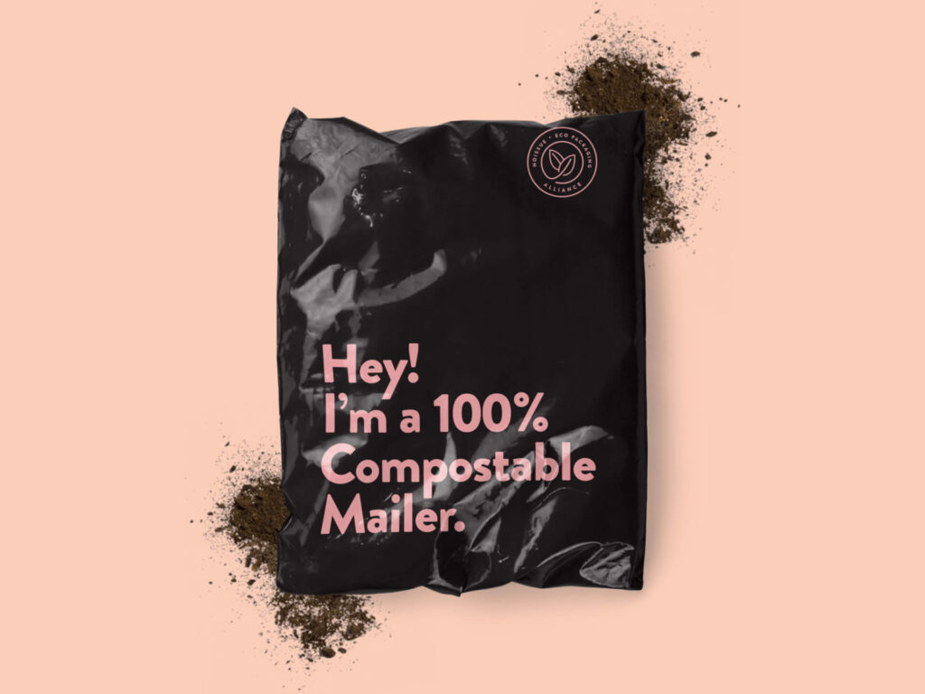 noissue compostable bag